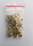 Блочки для обуви (заклепки) золото(40шт)