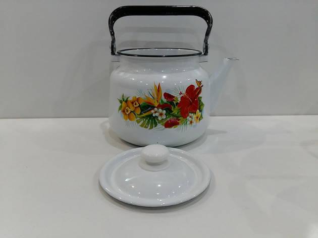 Чайник эмалированный 3,5л 2713/2, фото 2
