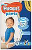Подгузники-трусики Huggies Pants для мальчиков 5 (12-17 кг), Mega Pack 44 шт.