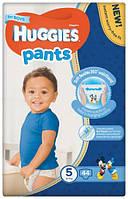 Подгузники-трусики Huggies Pants для мальчиков 5 (12-17 кг), Mega Pack 44 шт., фото 1