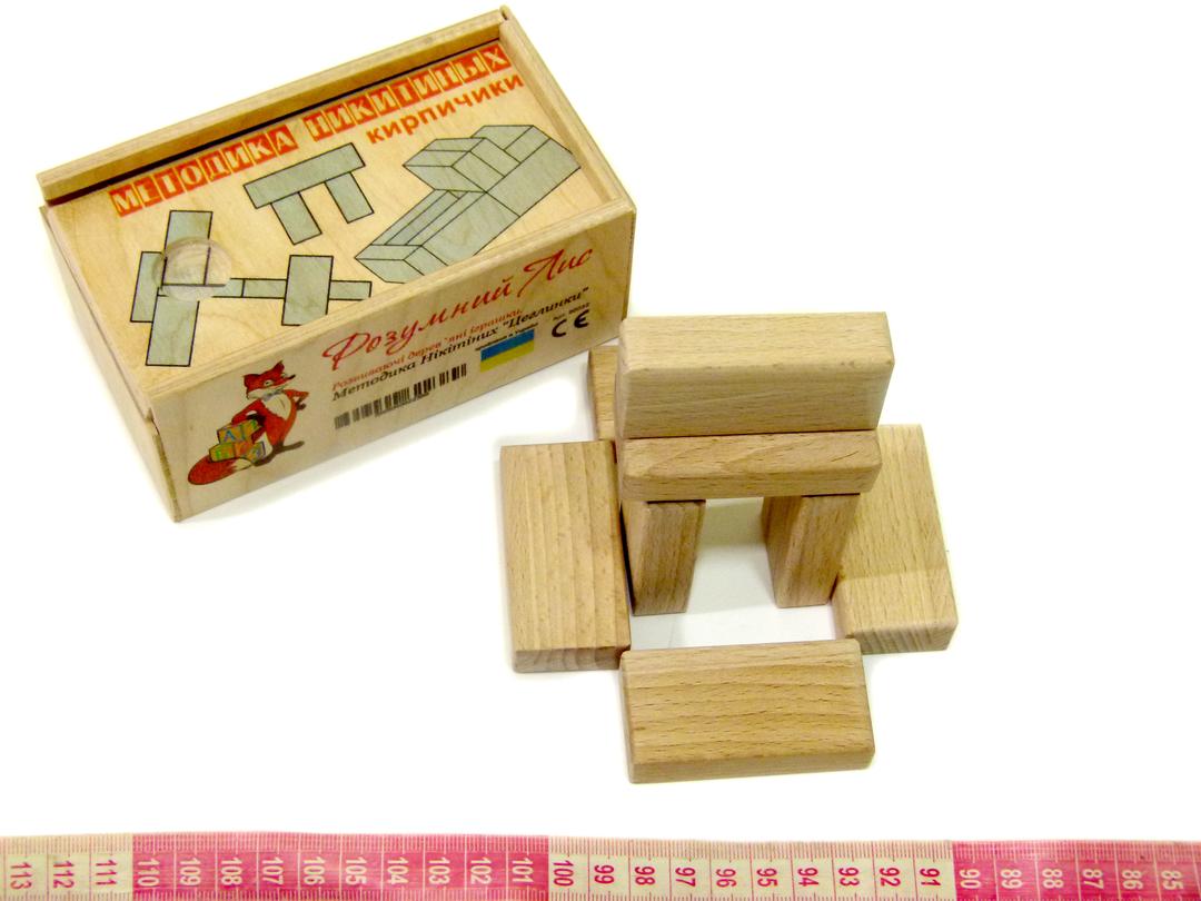 Кубики Никитиных Кирпичики Розумний Лис