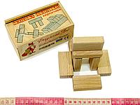 Кубики Никитиных Кирпичики Розумний Лис, фото 1