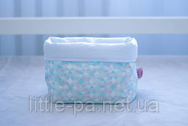 """Коробочка из текстиля для детских аксессуаров """"3D"""""""
