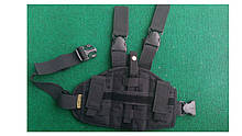 Кобура тактична стегновий (платформа) чорна