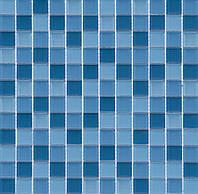 Голубая мозаика с синим Vivacer CMmix02Rv2