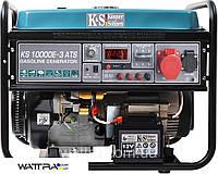 ⭐ Генератор бензиновый (8 кВт) Konner & Sohnen KS 10000E-3 ATS