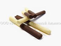Посыпки из шоколада — Трубочки молочные-белые (0,5 кг/уп)