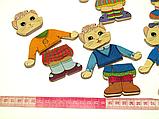 Іграшка Вкладиші - гардероб Одягайка Кішечка Розумний Лис (90025), фото 2