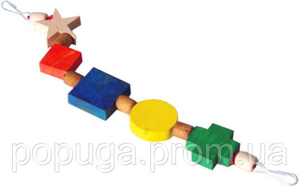 """Подвеска-игрушка для попугая """"Фигурки"""""""