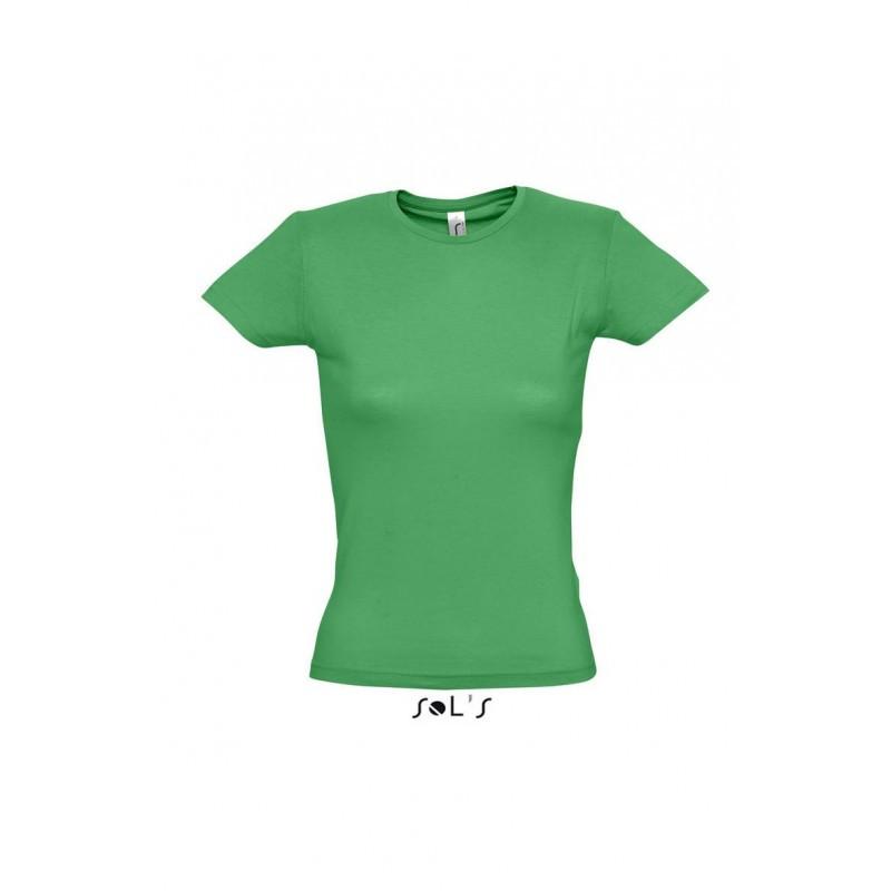 Футболка светло-зеленая, SOL'S MISS, размеры от S до XXL