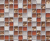 Мозаика камень стекло Vivacer CS08