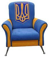 Кресло патриотическое оригинальное Патриот с Украинской атрибутикой