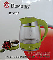 Электрочайник Domotec DT-707 стекло