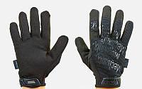 Перчатки тактические с закрытыми пальцами MECHANIX (р р M-XL, черный), фото 1