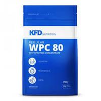 KFD Nutrition regular WPC 80 - 750 грам концентрат сывороточного протеина з BCAA