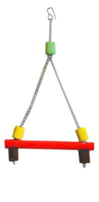 Подвеска деревянная для попугая