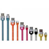 Кабель USB для IPHONE 5/6 плоский