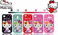 Чехол для iPhone 5/5s/SE case Hello kitty Glasses