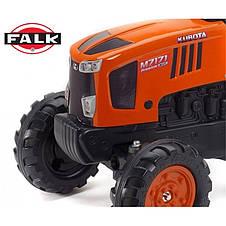 Трактор педальный c прицепом 2-5 лет Kubota Falk 2065AB, фото 2