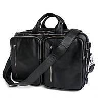 Сумка-рюкзак Jasper&Maine 7041A черная