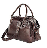 Мужская кожаная сумка Jasper&Maine 7071B коричневая