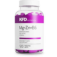 KFD Nutrition  Mg+Zn+B6 - 120 табл. магний, цинк ,витамин B6