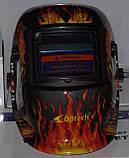 Маска сварщика Хамелеон OPTECH S777a Череп в огне, фото 5