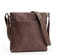 Сумка-мессенджер Tiding Bag G1166B коричневая