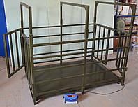 Весы для взвешивания крупного рогатого скота ВПЕ-Trionyx-1220-1,5, до 1500 кг, 1250х2000 мм