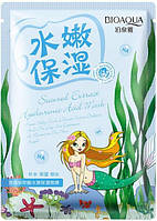 Маска для лица с экстрактом морских водорослей