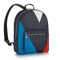 Рюкзак кожаный Louis Vuitton LV1208 цветной