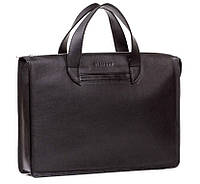 Мужская кожаная сумка Blamont Bn077A черная