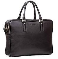 Мужская кожаная сумка Blamont Bn074A черная