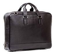 Мужская кожаная сумка Blamont Bn075A черная