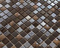 Мозаика мрамор и стекло Vivacer DAF17