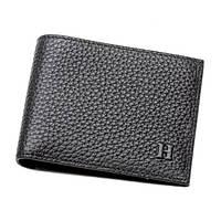 Мужской бумажник HERMES H-015 черный