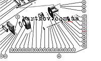 Вентилятор отсоса пыли Акрос-530 ВЕКТОР-410 101.05.07.350-01