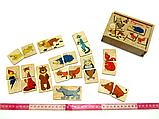 Гра Половинки Лісові тварини Розумний Лис (90017), фото 2