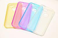 Чехол для iPhone 5/5s/SE Stripe TPU case, голубой