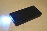 Лупа складная 2.5х+45х-кратная с двойной подсветкой + ультрафиолет, фото 7