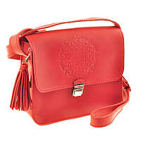 Женская сумка Blanknote Lilu BN-BAG-3-coral-man коралловая