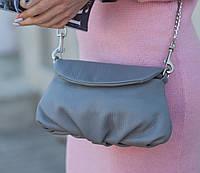 Женская сумка Tefia J-02-Grey серая