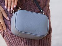 Женская сумка Tefia Pm-02-Grey серая