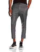 Укороченные брюки в сером цвете Erin от !Solid (Дания) в размере M