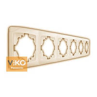 Рамка 6-я вертикальная крем Vi-KO Carmen