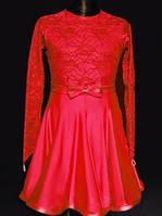 Рейтинговое платье (бейсик)  для девочки, юниор