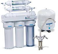 Фильтр для воды Leader Standart RO-6P Bio  - система обратного осмоса  с насосом, фото 1