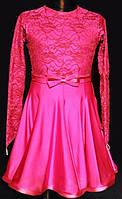 Рейтинговое платье (бейсик)  для девочки цвет в ассортименте