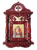 """Киот деревянный """"Пресвятая Богородица"""""""