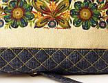 Жіноча джинсова стьобаний сумочка Весна, фото 6